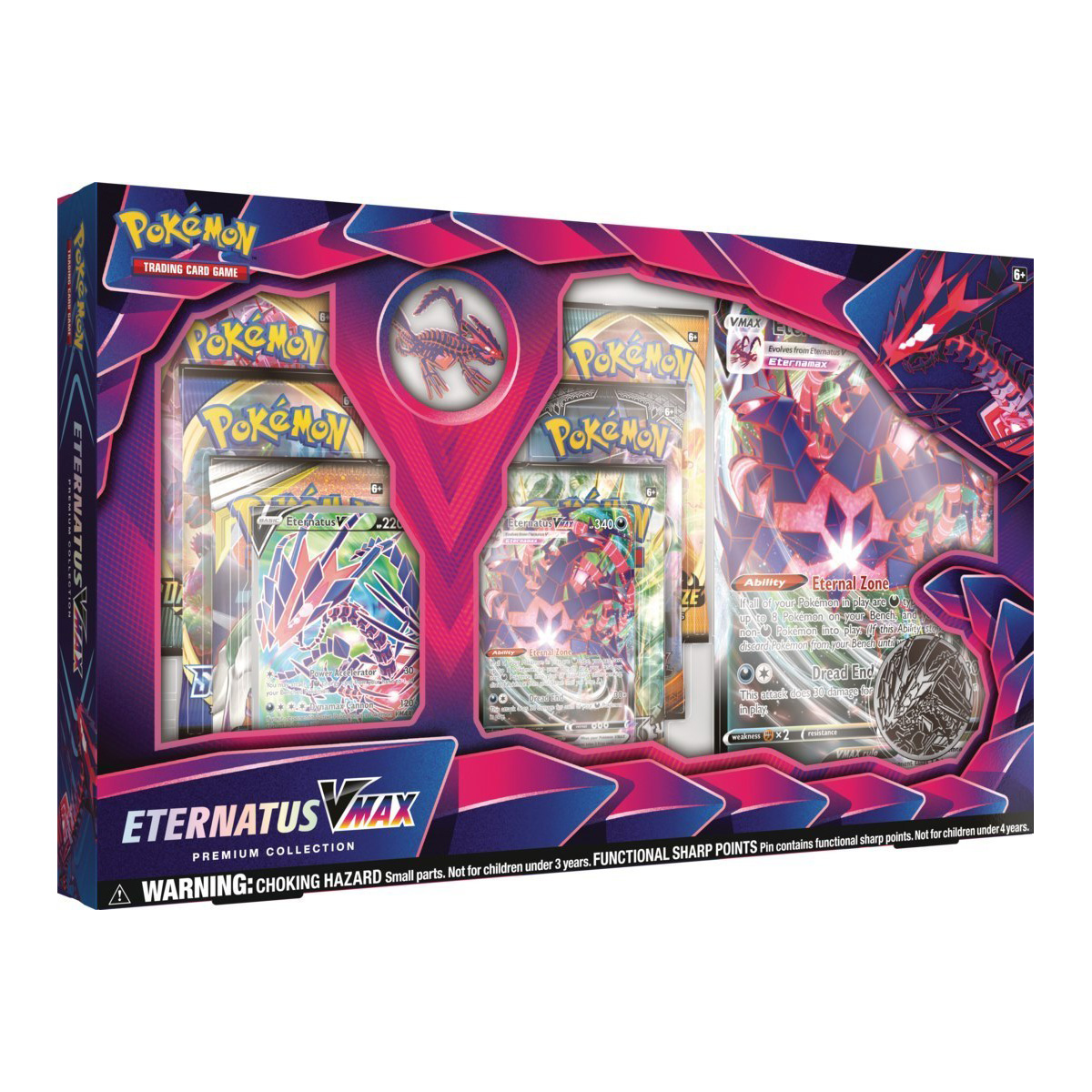 Pokemon Eternatus VMAX Premium Box CollectionTrading Card Game Boosters Promo