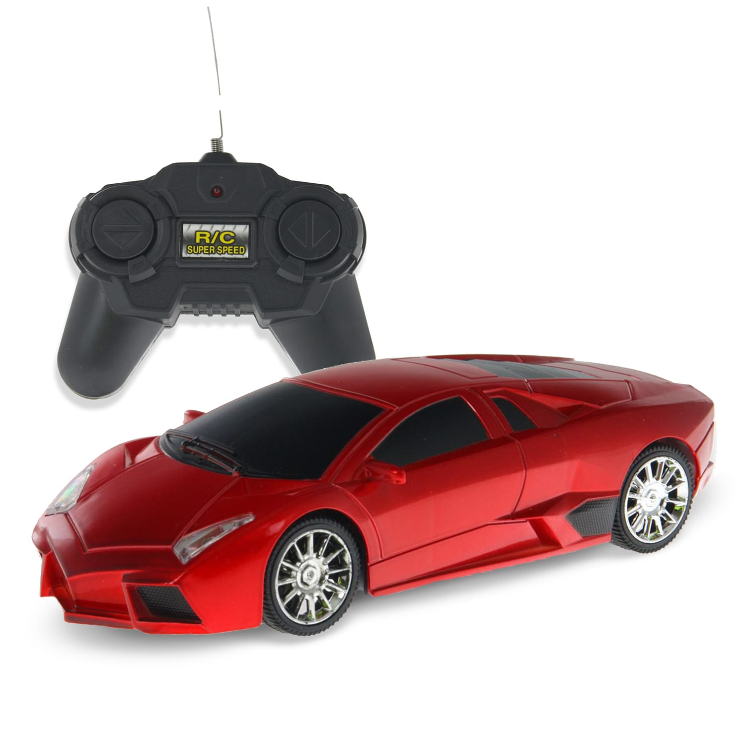 Top 10 Fastest Car In The Word: Fast Car LF08 Red Lambo 1/24 Scale RC Car At Toys R Us
