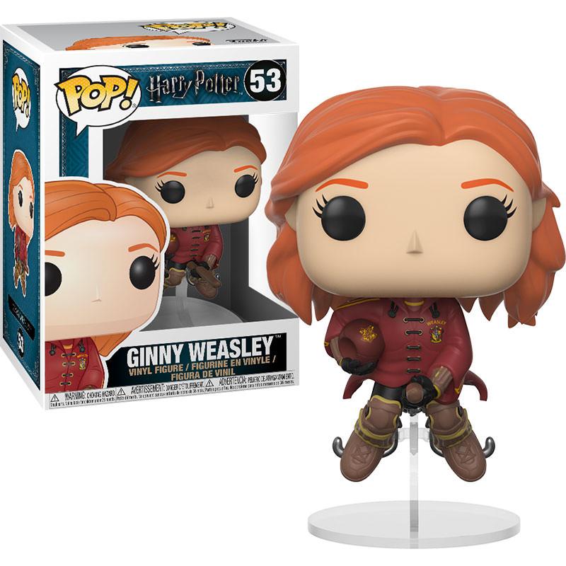 Funko Harry Potter - Ginny Weasley on Broom Pop! Vinyl ...