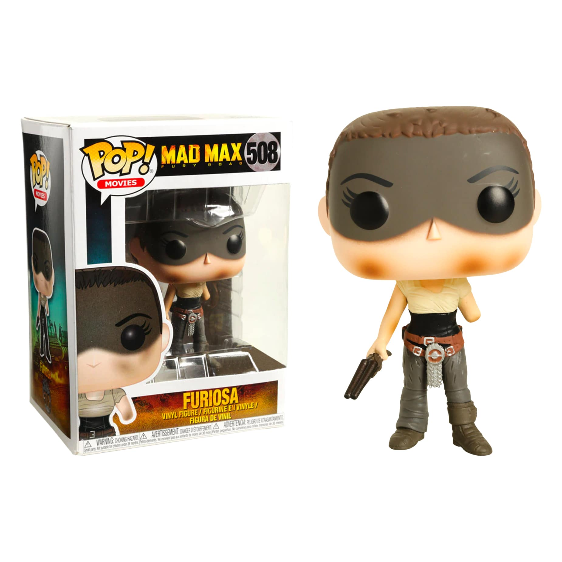 Funko Mad Max Fury Road POP Furiosa Vinyl Figure NEW Toys In Stock