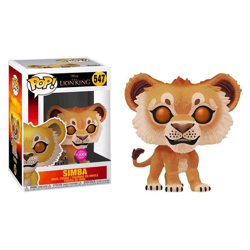 Funko The Lion King 2019 Simba Flocked Pop Vinyl Figure