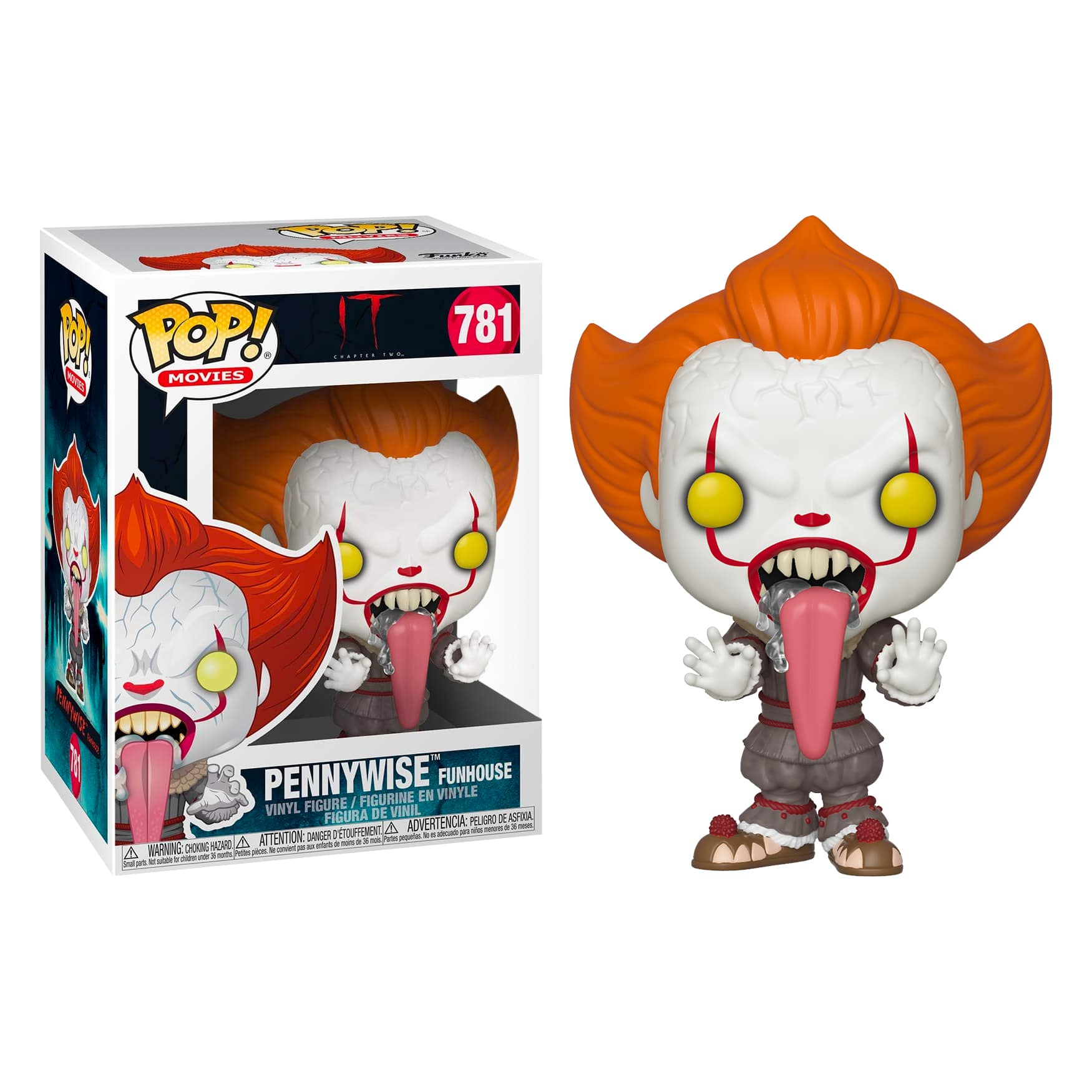 2017 Pennywise 5-Star Vinyl Figure-FUN34009 It