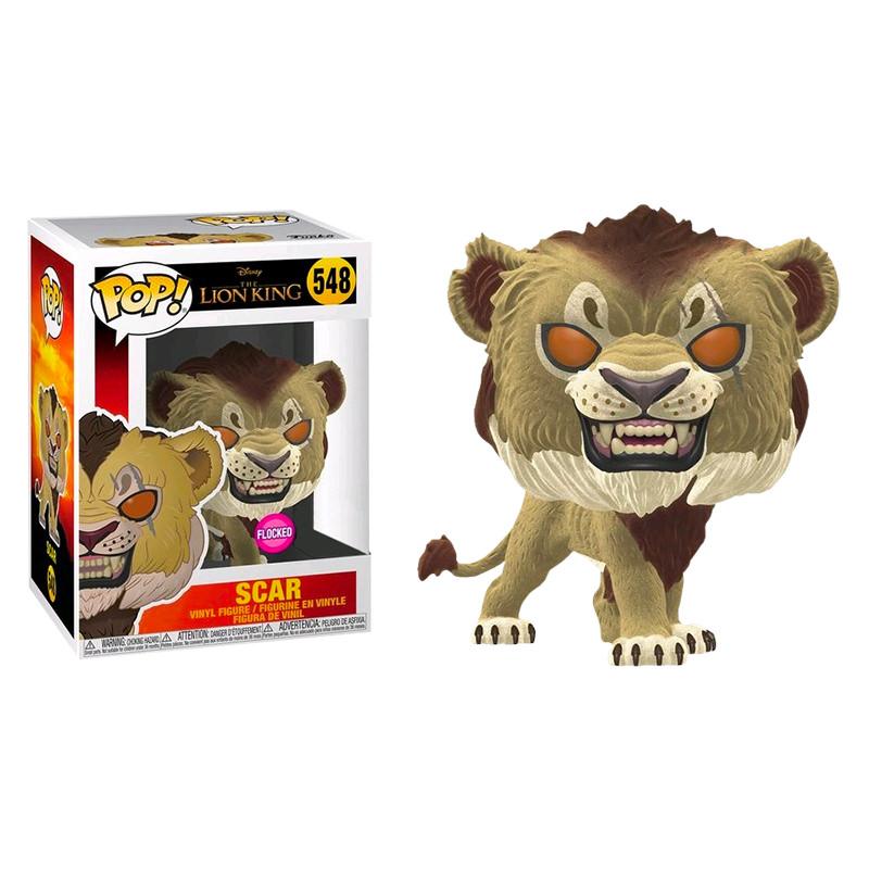 Funko The Lion King 2019 Scar Flocked Pop Vinyl Figure