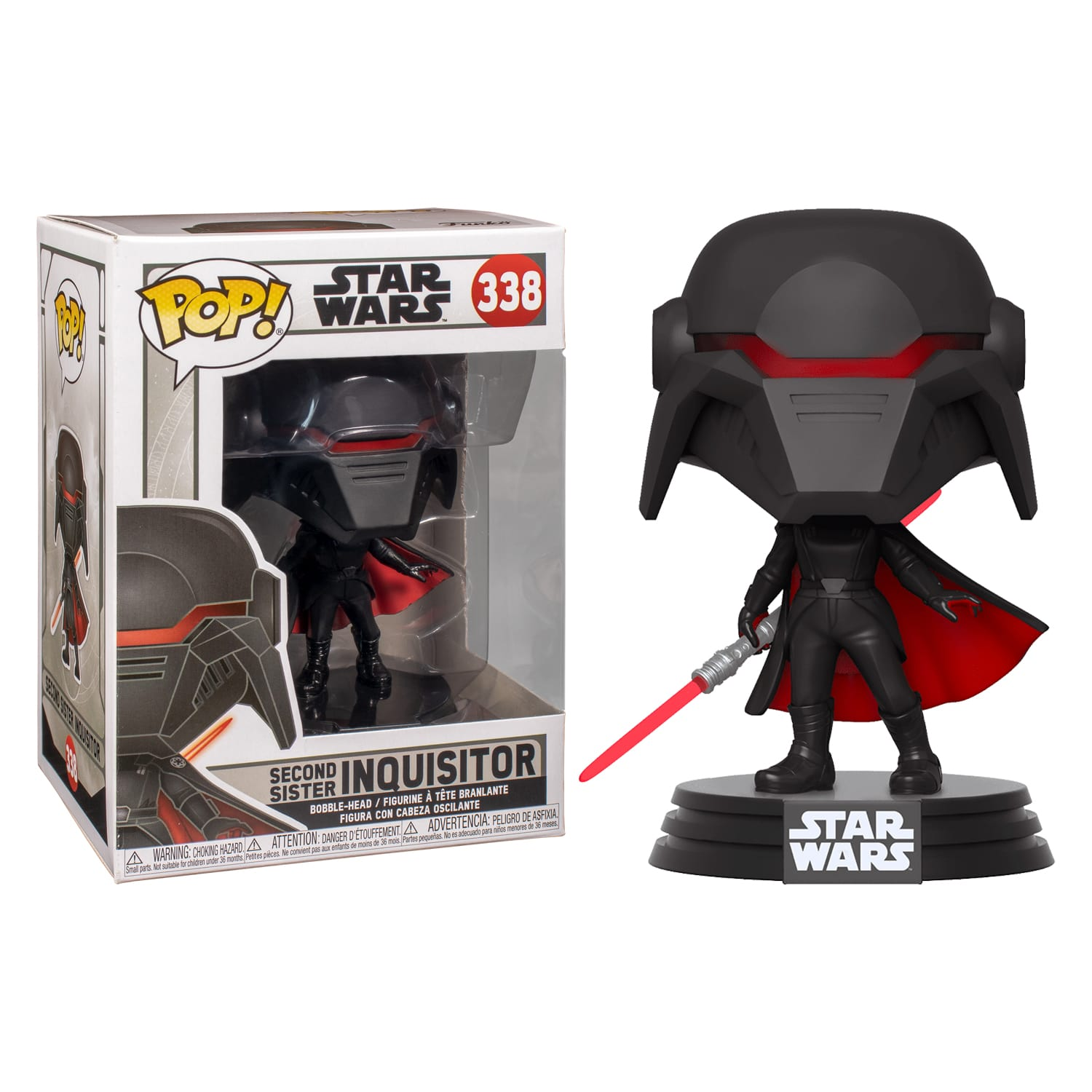 Funko Star Wars Jedi Fallen Order Second Sister Inquisitor Pop Vinyl Figure At Toys R Us