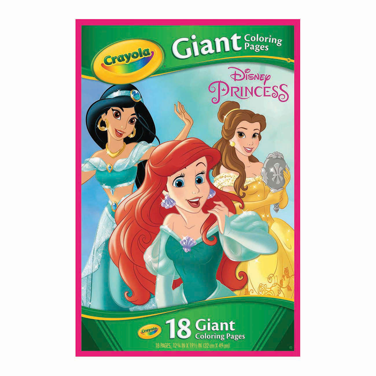 Crayola Giant Coloring Pages Disney Princess At Toys R Us