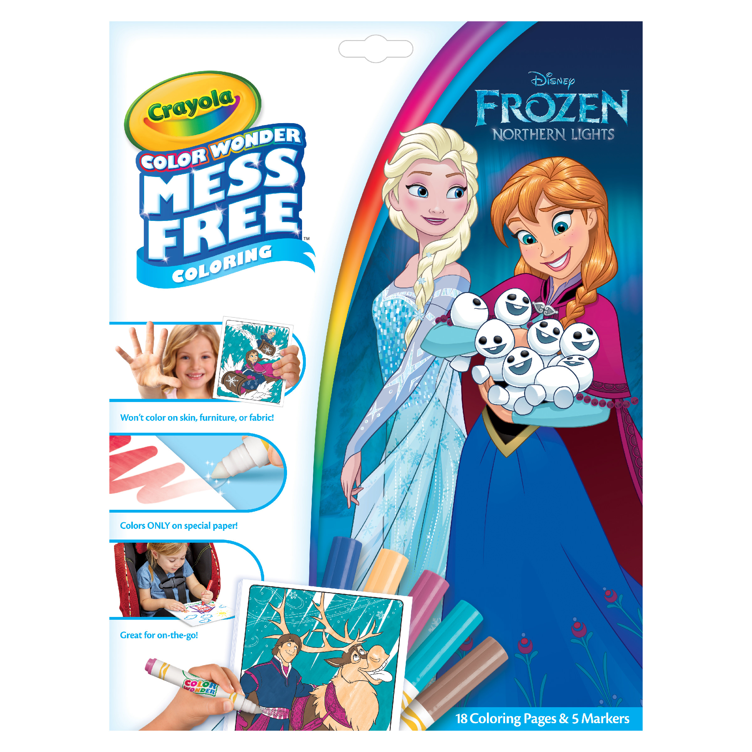 No Mess Marker and Paper Set Gift for Toddlers Crayola My ...