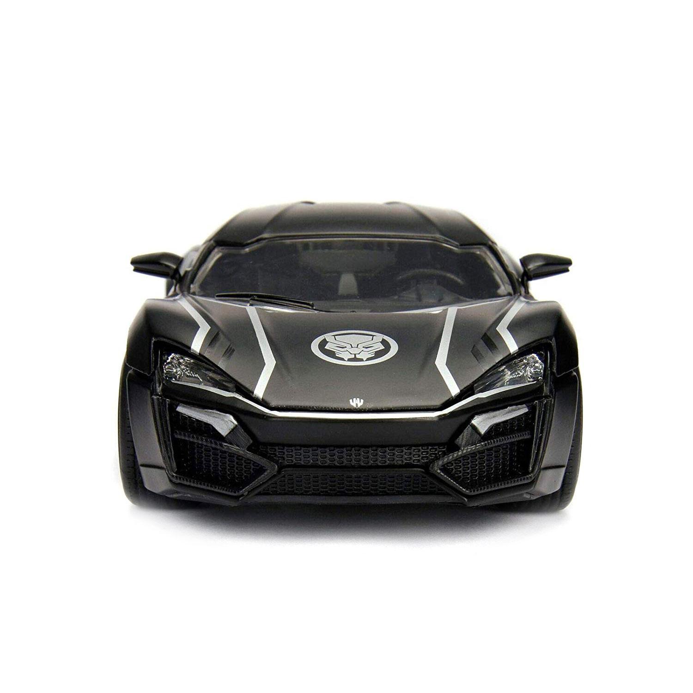 Lykan Hypersport /& Black Panther Figur Avengers model 1:24 Jada Toys 99723