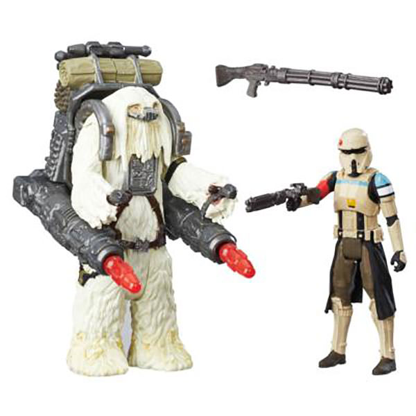 """Star Wars Moroff /& Scarif Stormtrooper Squad Leader 3.75/"""" Rogue One 2 Pack"""