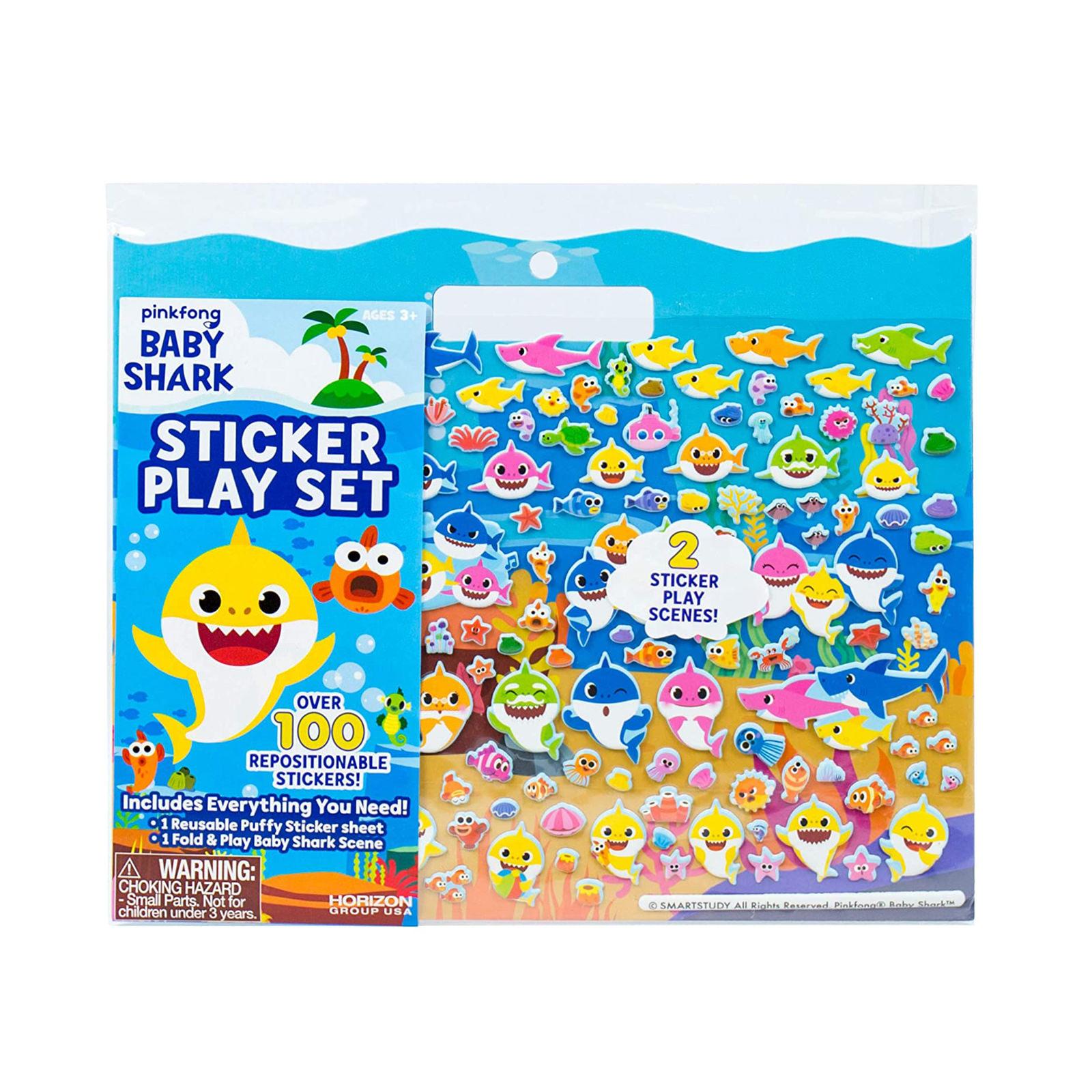 Baby Shark Sticker Play Scene Activity Set at Toys R Us