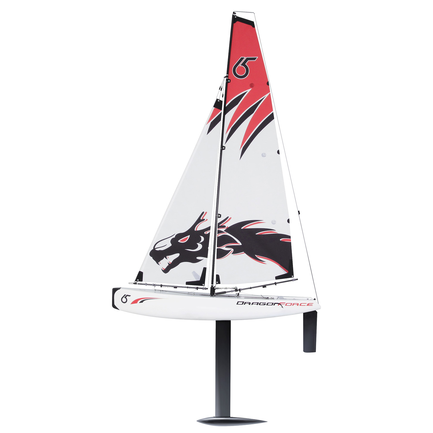 Joysway DragonForce 65 V5 2 4GHz RTR DF65 RG65 Class RC Yacht - White  Edition (includes Transmitter & Receiver)
