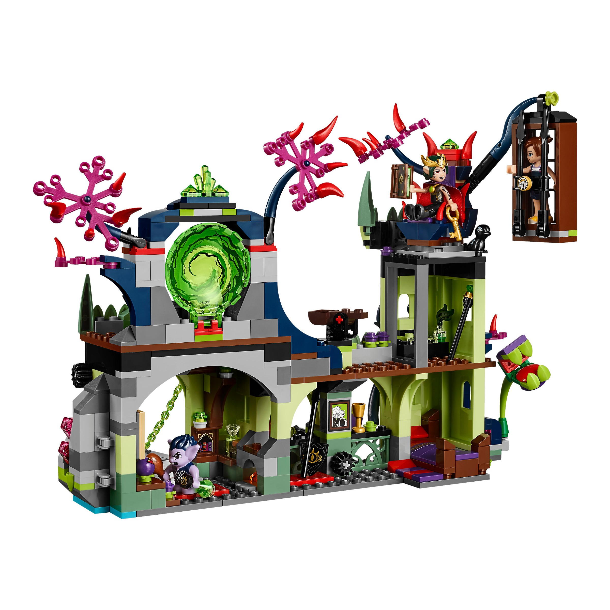 Lego 41188 Elves Breakout From The Goblin King S Fortress At Toys R Us