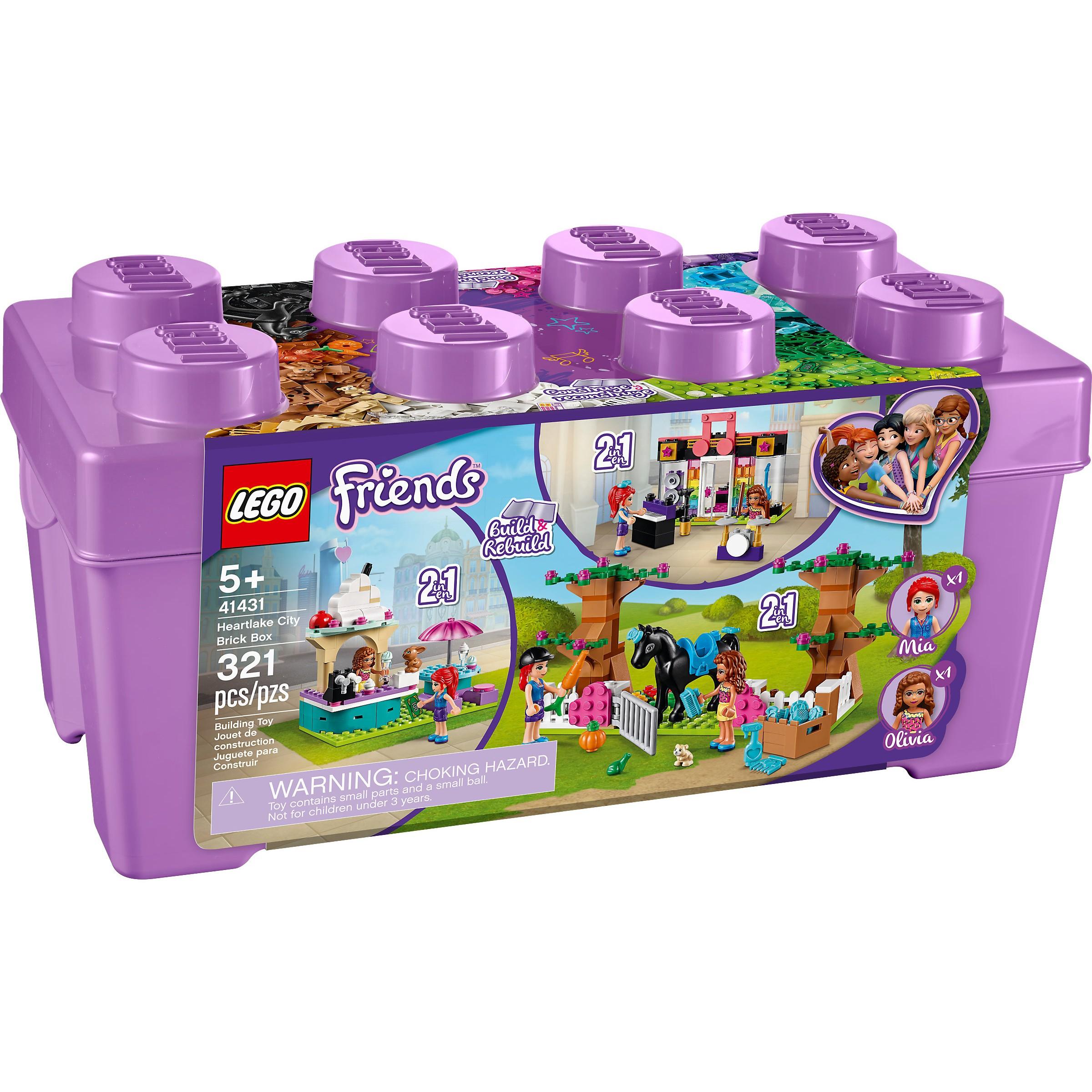 LEGO 41431 Friends Heartlake City Brick Box at Toys R Us