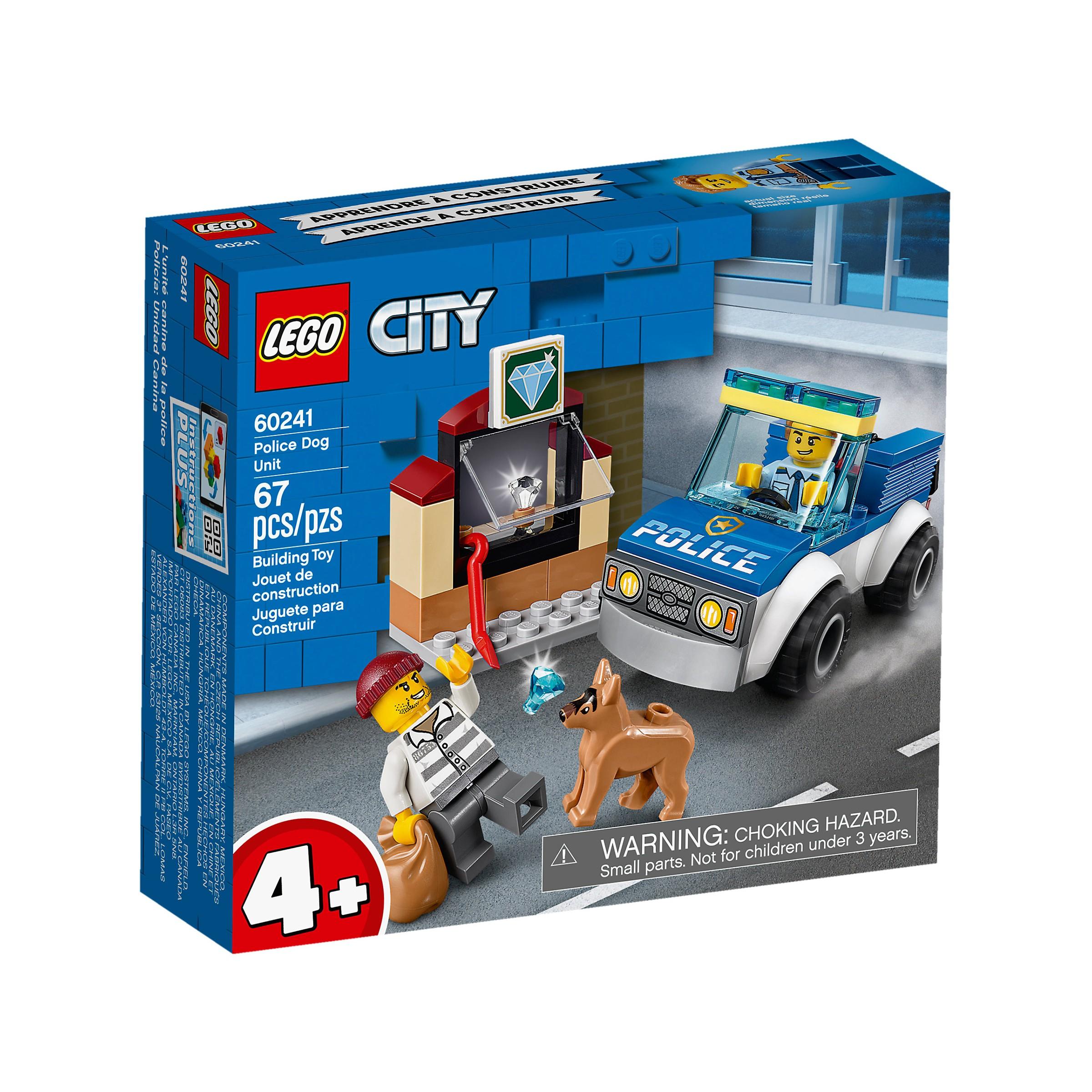LEGO 60241 City Police Dog Unit at Toys R Us