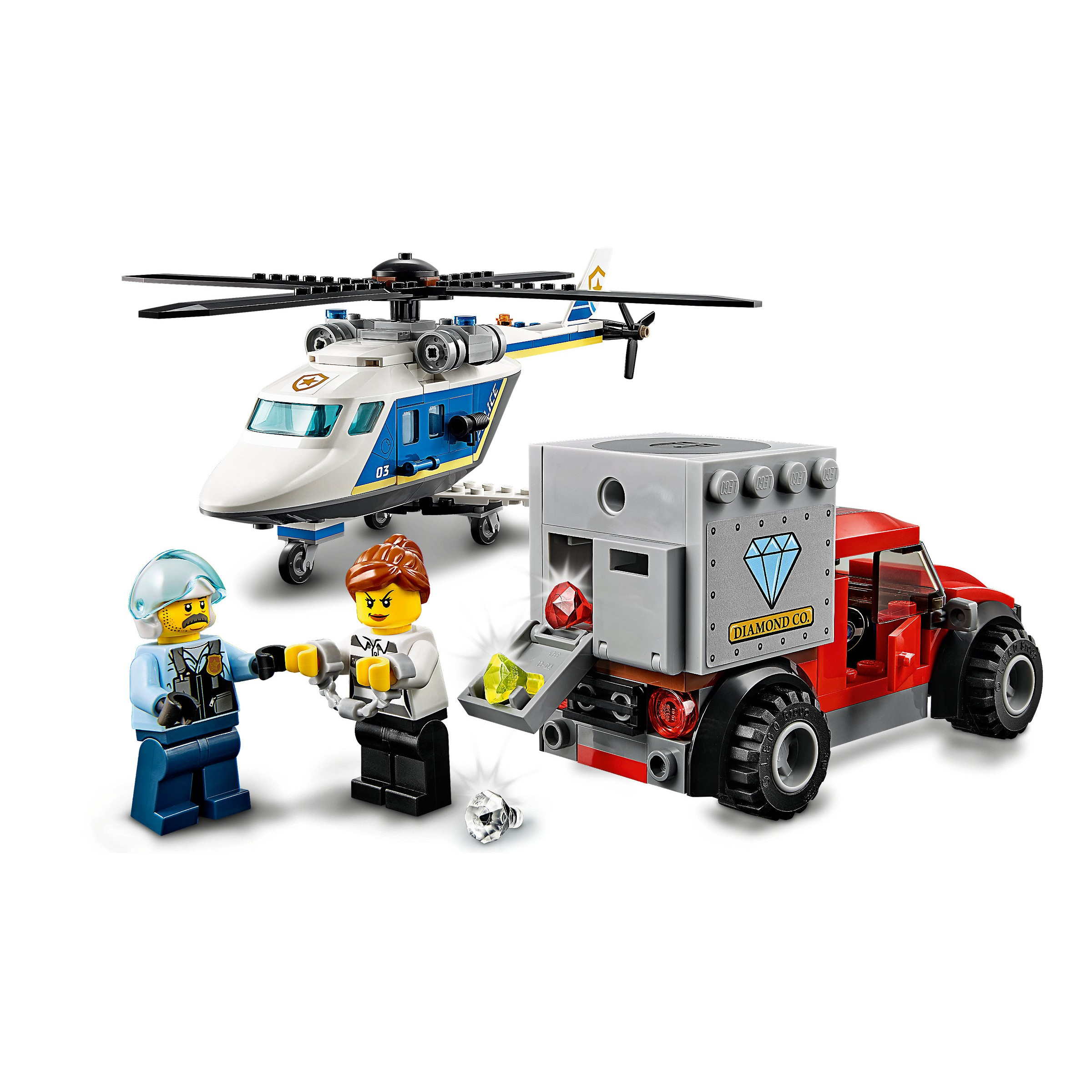 Lego 60243 City Police Helicopter Chase At Toys R Us