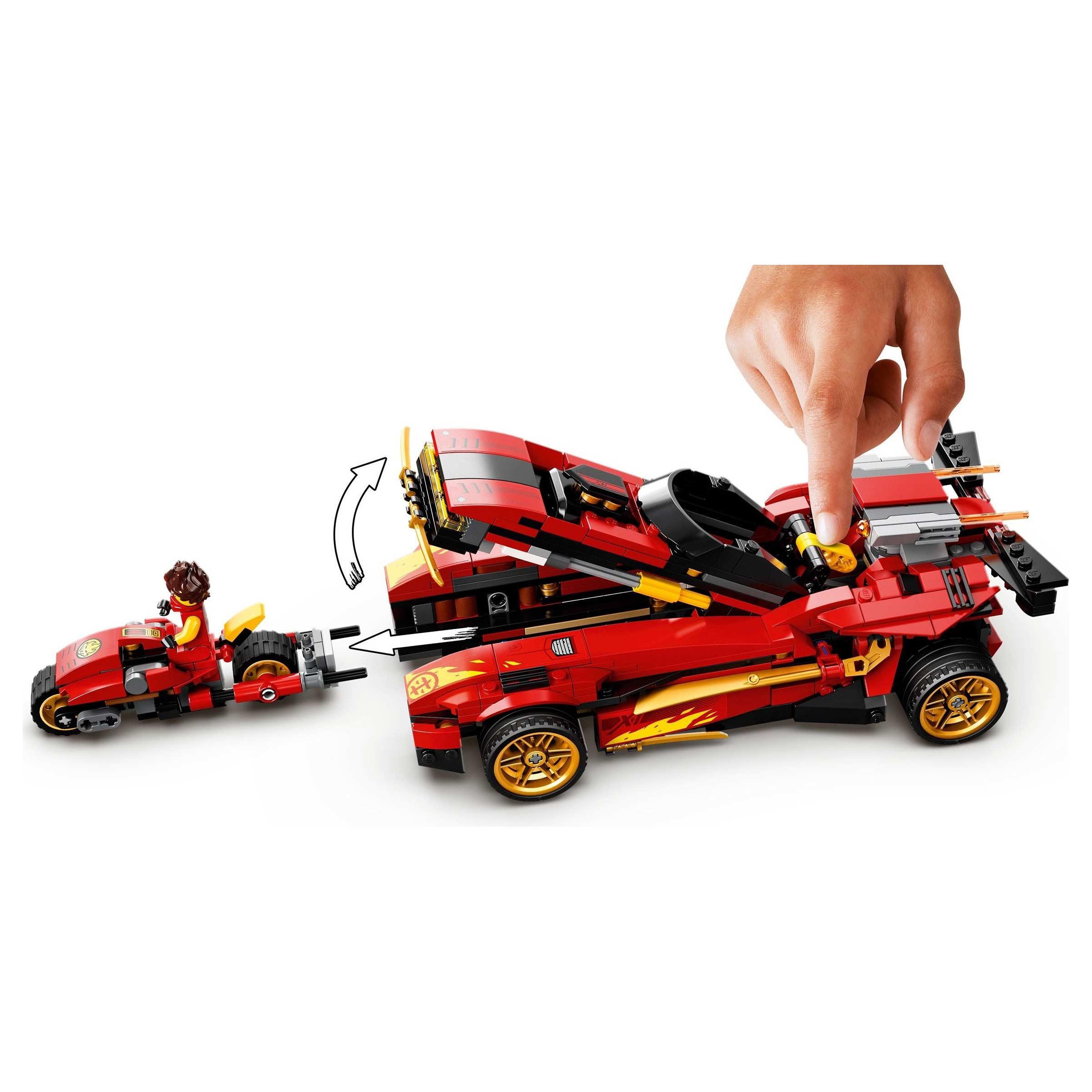 LEGO 71737 Ninjago X-1 Ninja Charger at Toys R Us