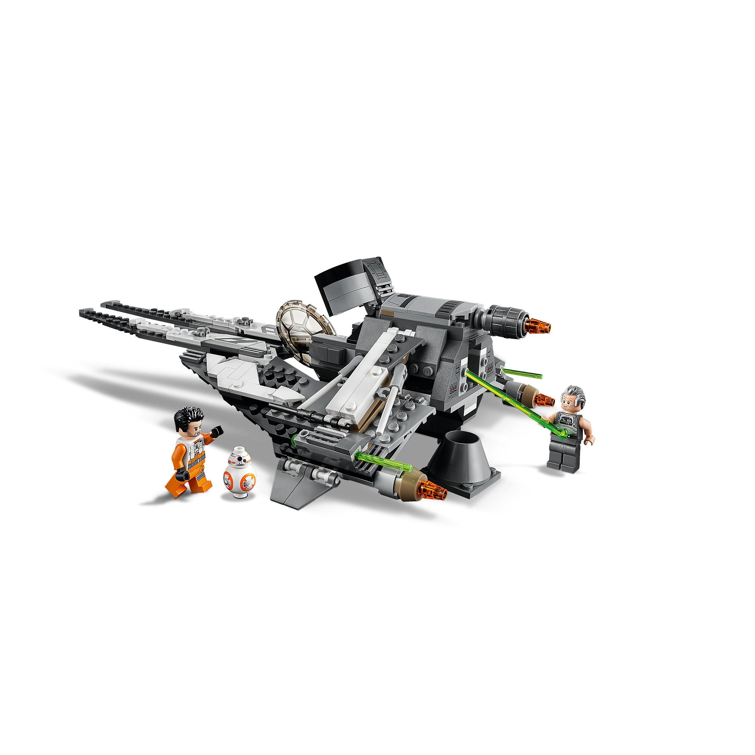 Poe Dameron minifigure from set 75242 Lego Star Wars