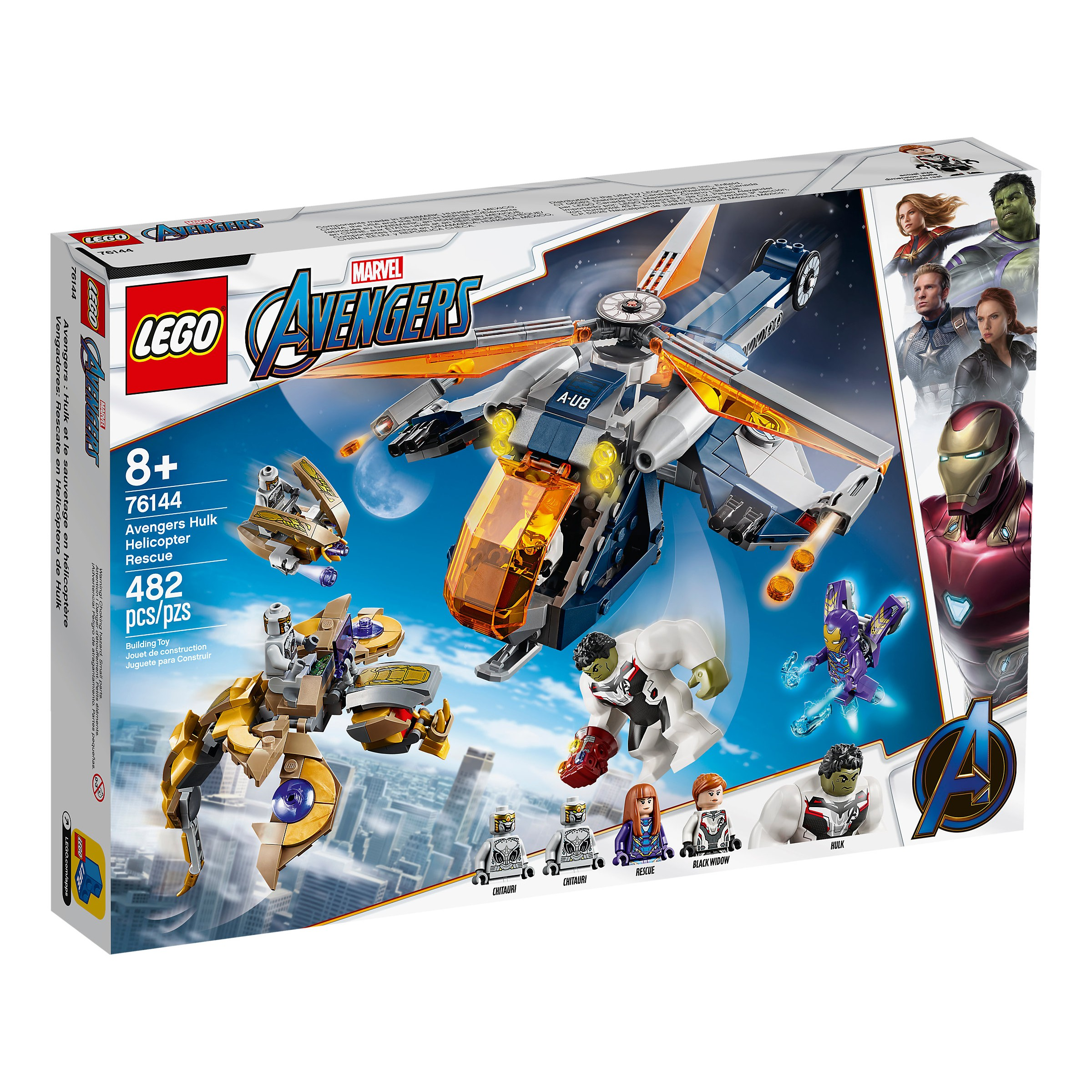Lego 76144 Marvel Avengers Hulk Helicopter Rescue At Toys R Us