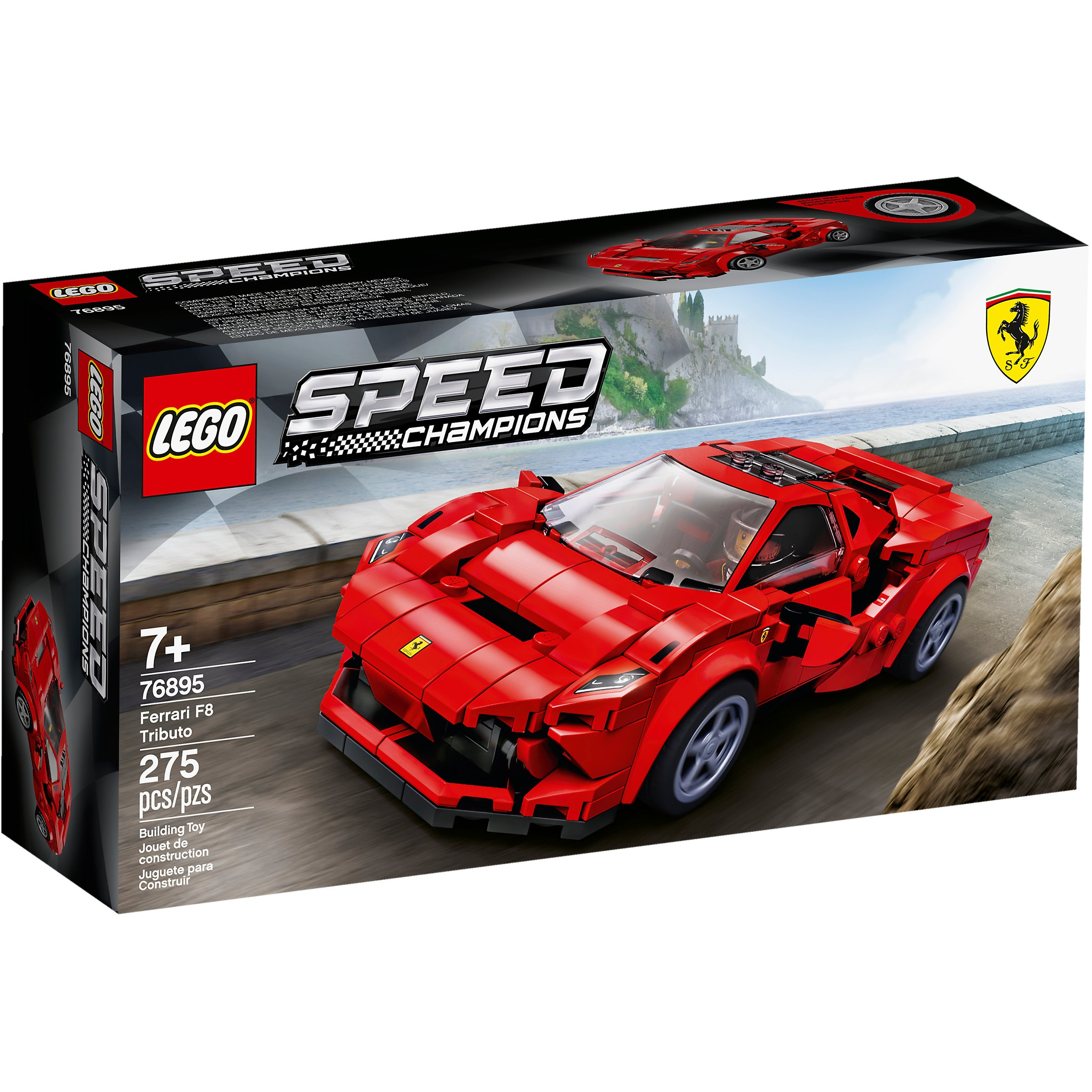 Ferrari F8 Tributo Engine: LEGO 76895 Speed Champions Ferrari F8 Tributo At Toys R Us