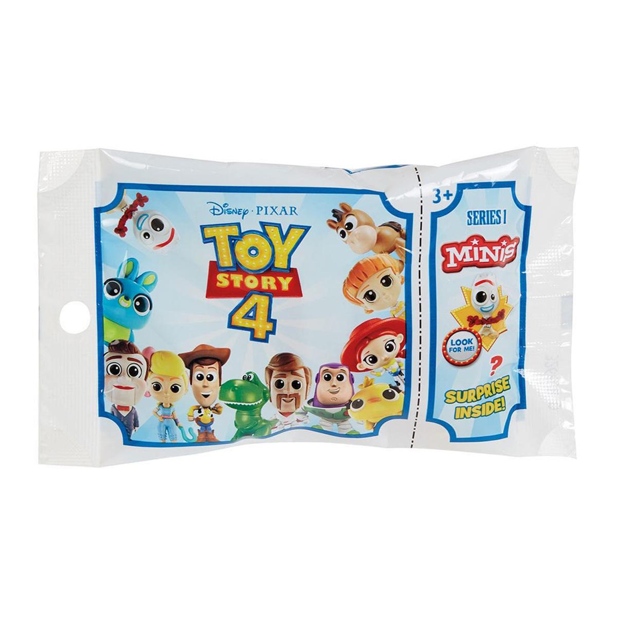Disney Pixar Toy Story 4 Series 3 Mini Figure Blind Bags 4 Pack
