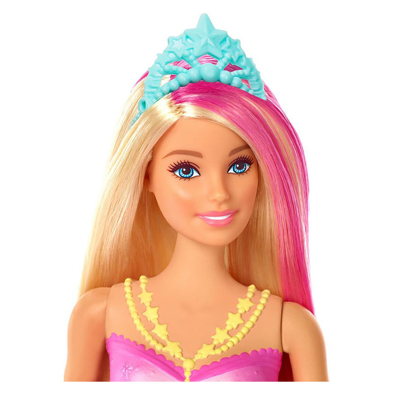 NO TAX ***NEW**Barbie Rainbow Lights Mermaid Doll Girl Gift Age 3 Years and Up