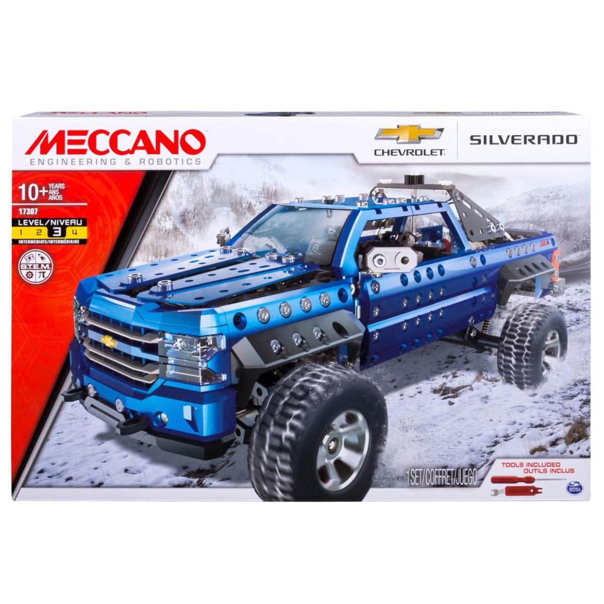 Meccano 17307 Chevrolet Silverado Pickup Truck at Toys R Us