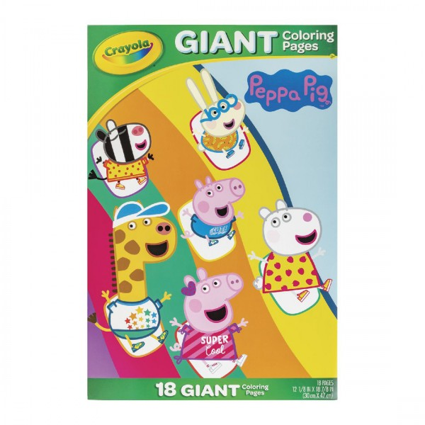 Crayola Peppa Pig Giant Coloring Pages at Toys R Us