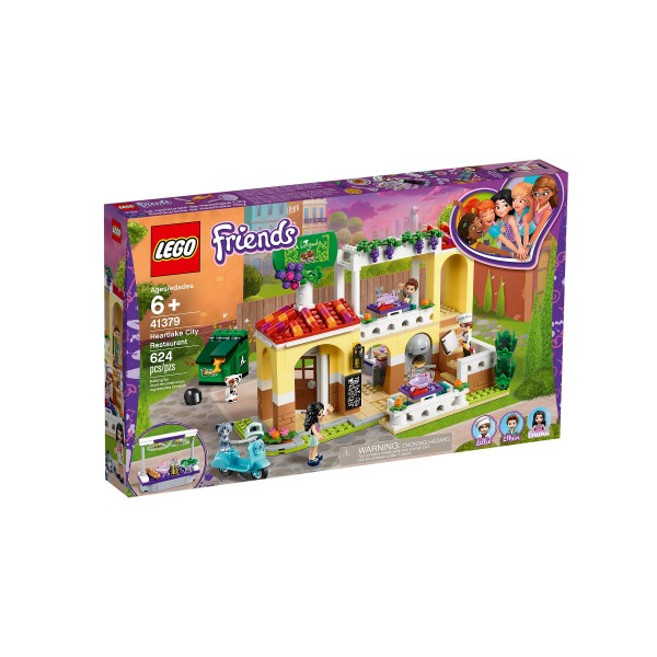 Lego 41379 Friends Heartlake City Restaurant At Toys R Us