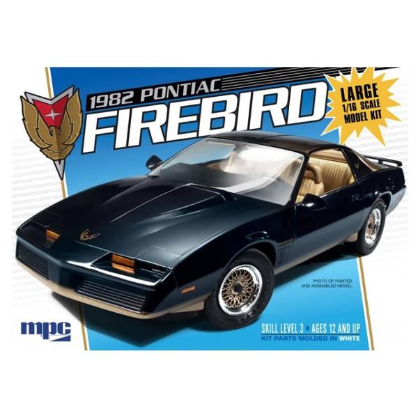1:16  MPC 858-1982 Pontiac Firebird Plastic Model Kit