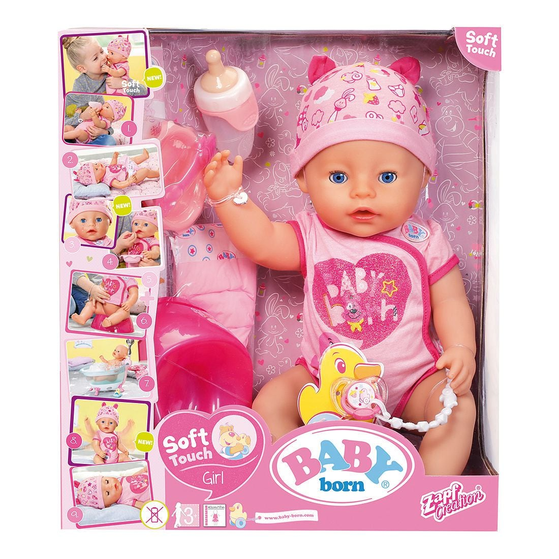 Baby Born Soft Touch Doll - Girl