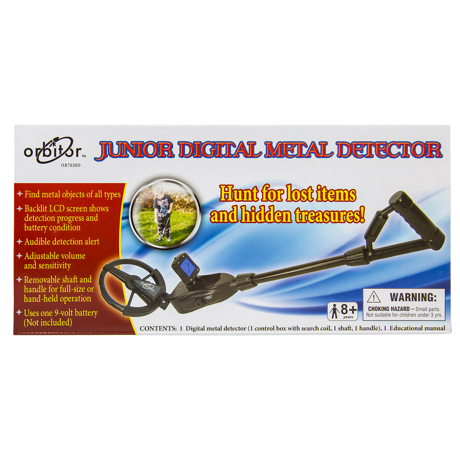 Orbitor Junior Digital Metal Detector