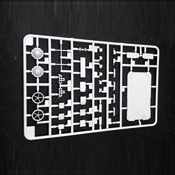 Woodland Scenics Dry Transfer Large Roman Letters Black MG713 WOOMG713 WOO