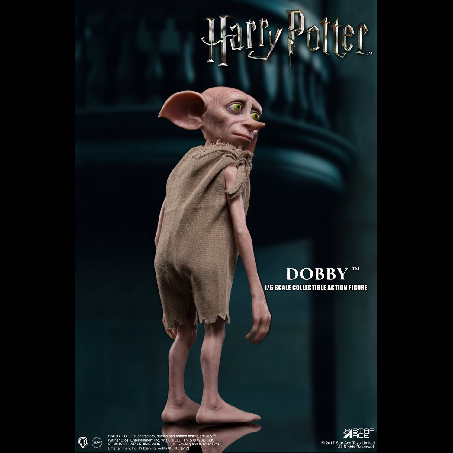 6 Scale Action Figure Star Ace Toys Harry Potter /& The Goblet of Fire Lucius Malfoy with Dobby 1