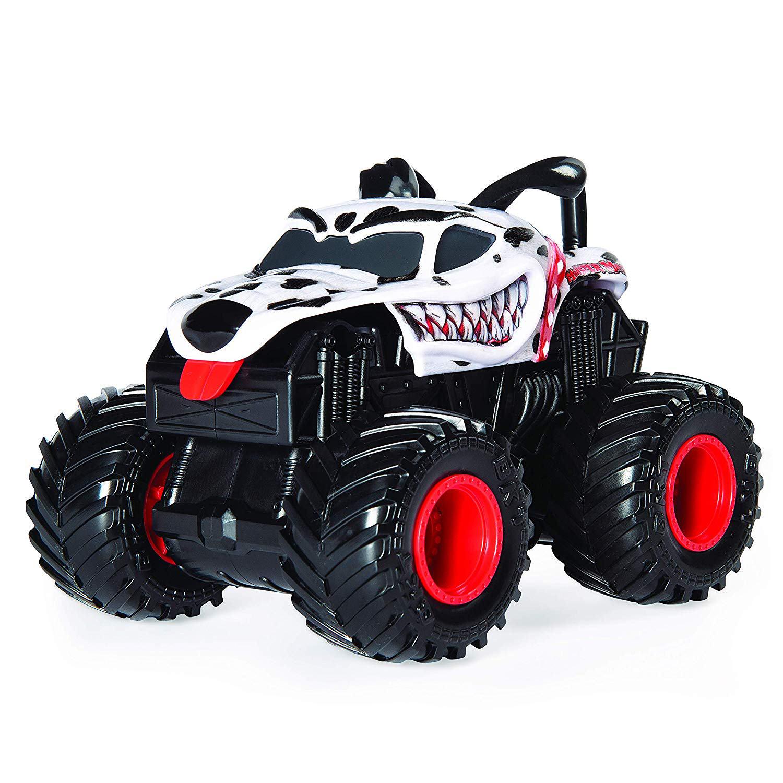 Monster Jam 1:43 Scale Rev 'N Roar Truck - Monster Mutt Dalmatian