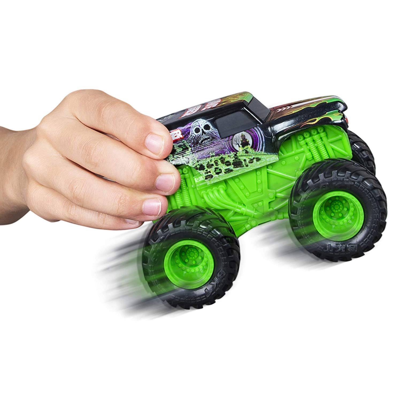 Monster Jam 1:43 Scale Rev 'N Roar Truck - Grave Digger