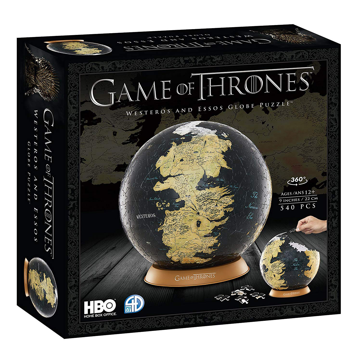 4d Cityscape Puzzle Game Of Thrones 9 Globe At Toys R Us