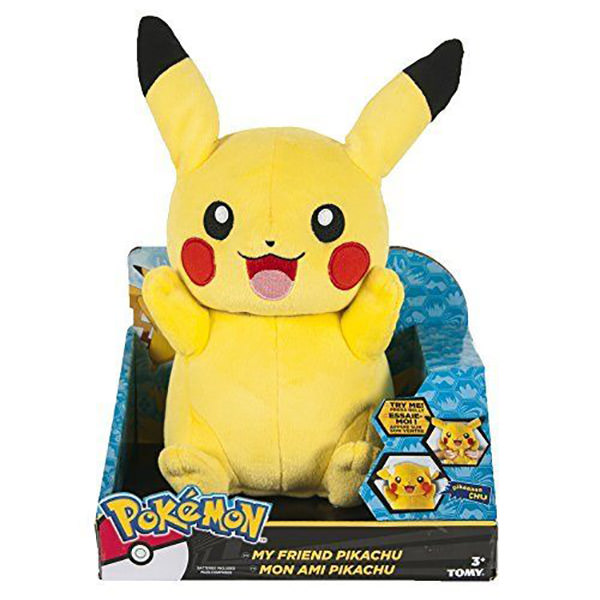 Pokemon Talking Pikachu Figure Official Pokemon toy by TOMY *US Seller