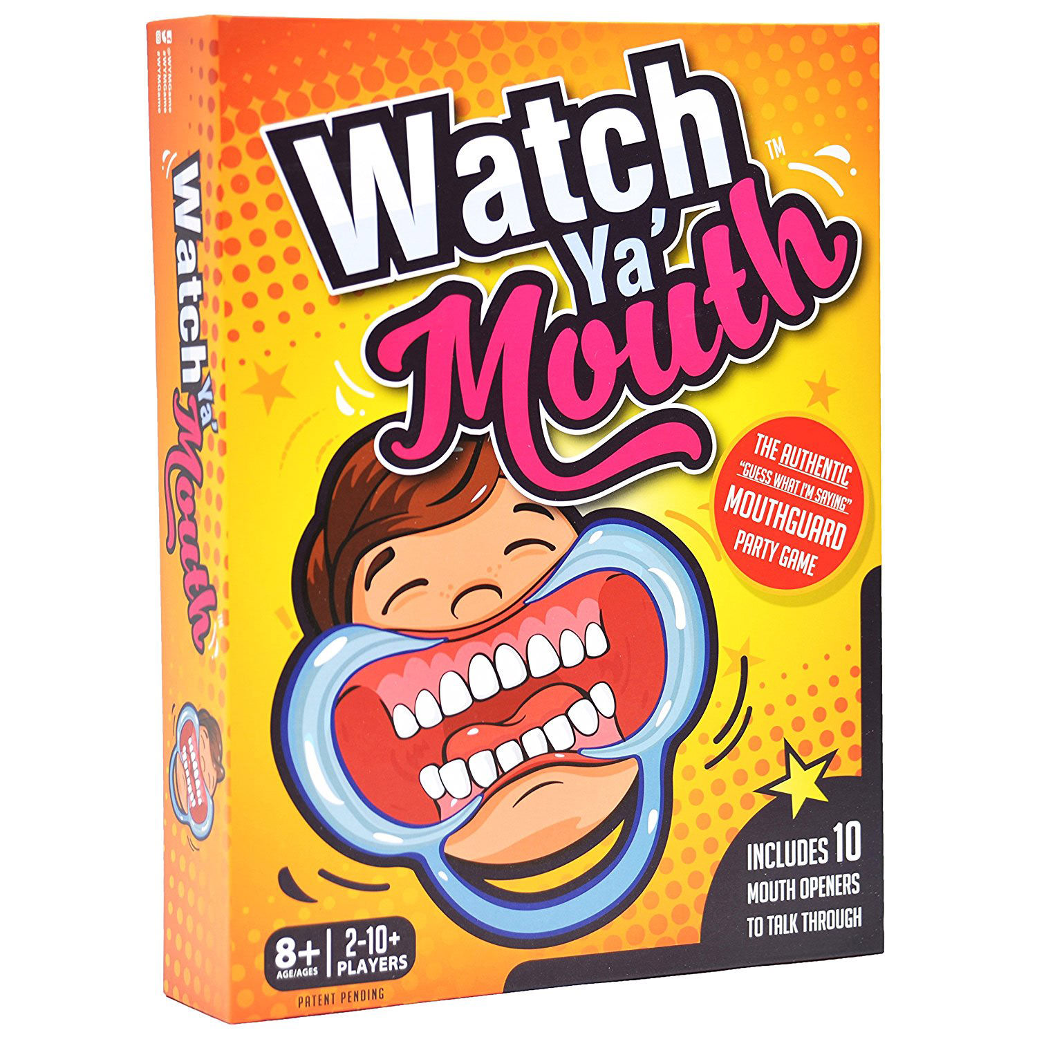 Watch Ya Mouth Mouthguard Party Game At Toys R Us
