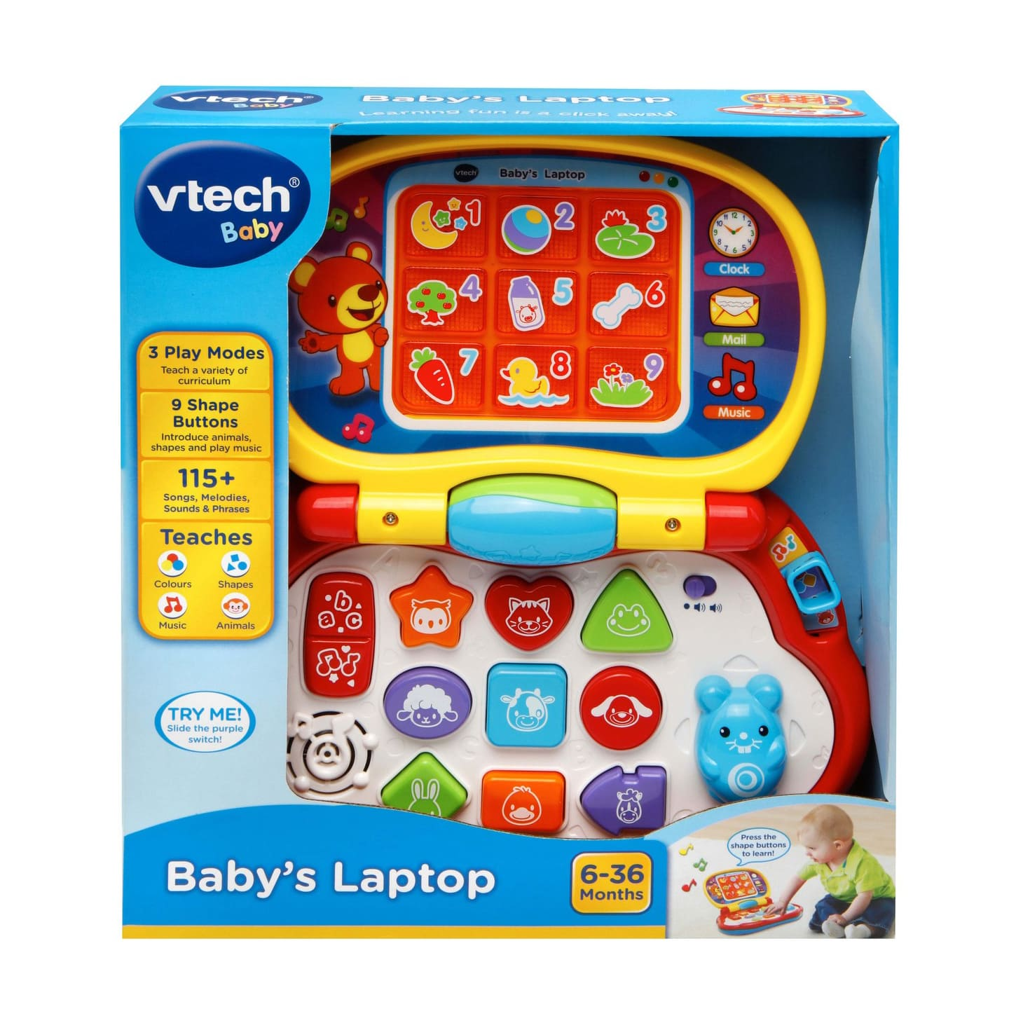 VTech Baby's Laptop at Toys R Us